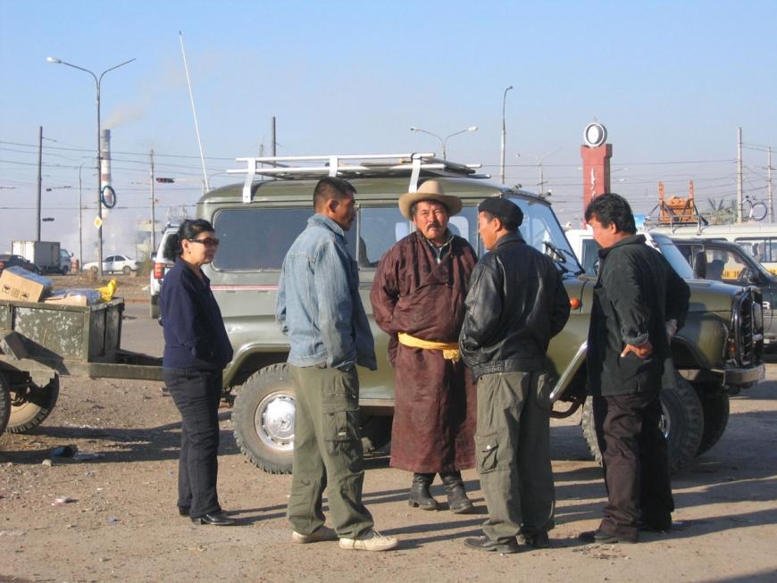 Mongolia oil