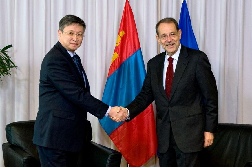 Mongolia prime minister