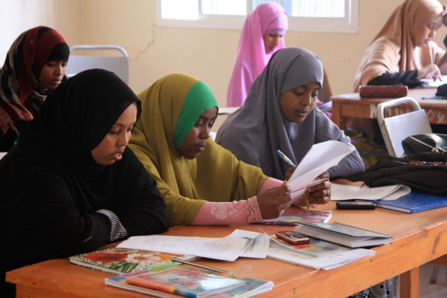 Students in Somaliland