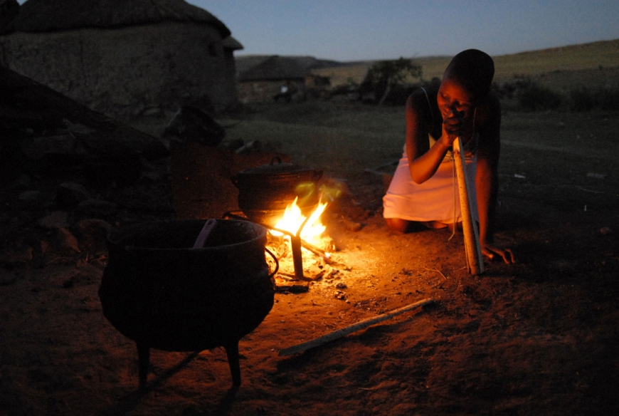 POVERTY LESOTHO HIGH OIL PRICE